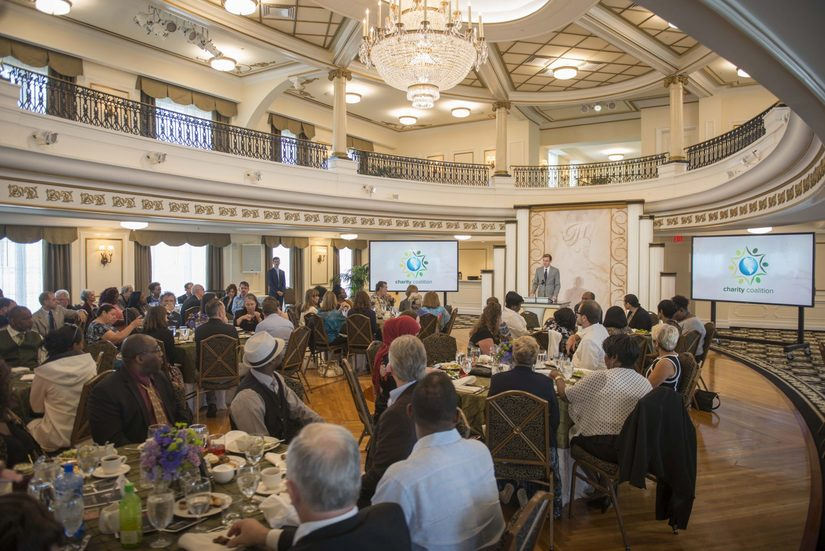 Charity Coalition luncheon February 21, hosted by the Church of Scientology at the Fort Harrison